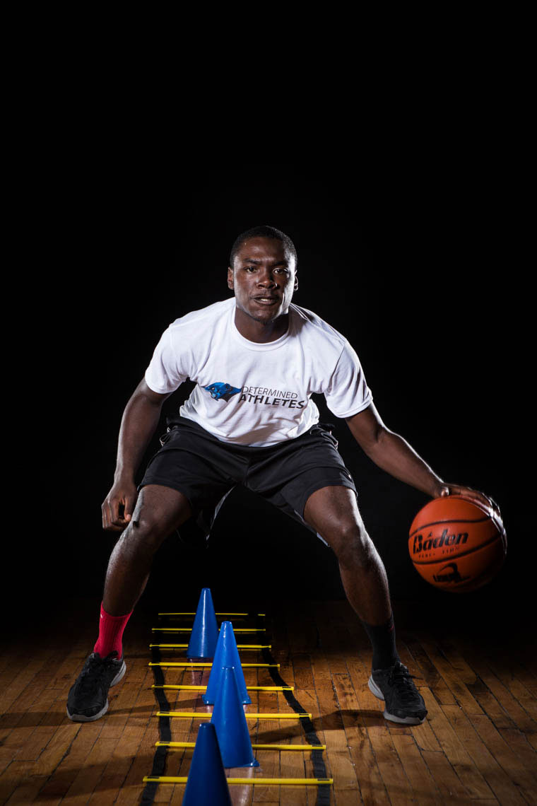 Philadelphia-Photographer-Determined-Athlete-Dribble-Drill