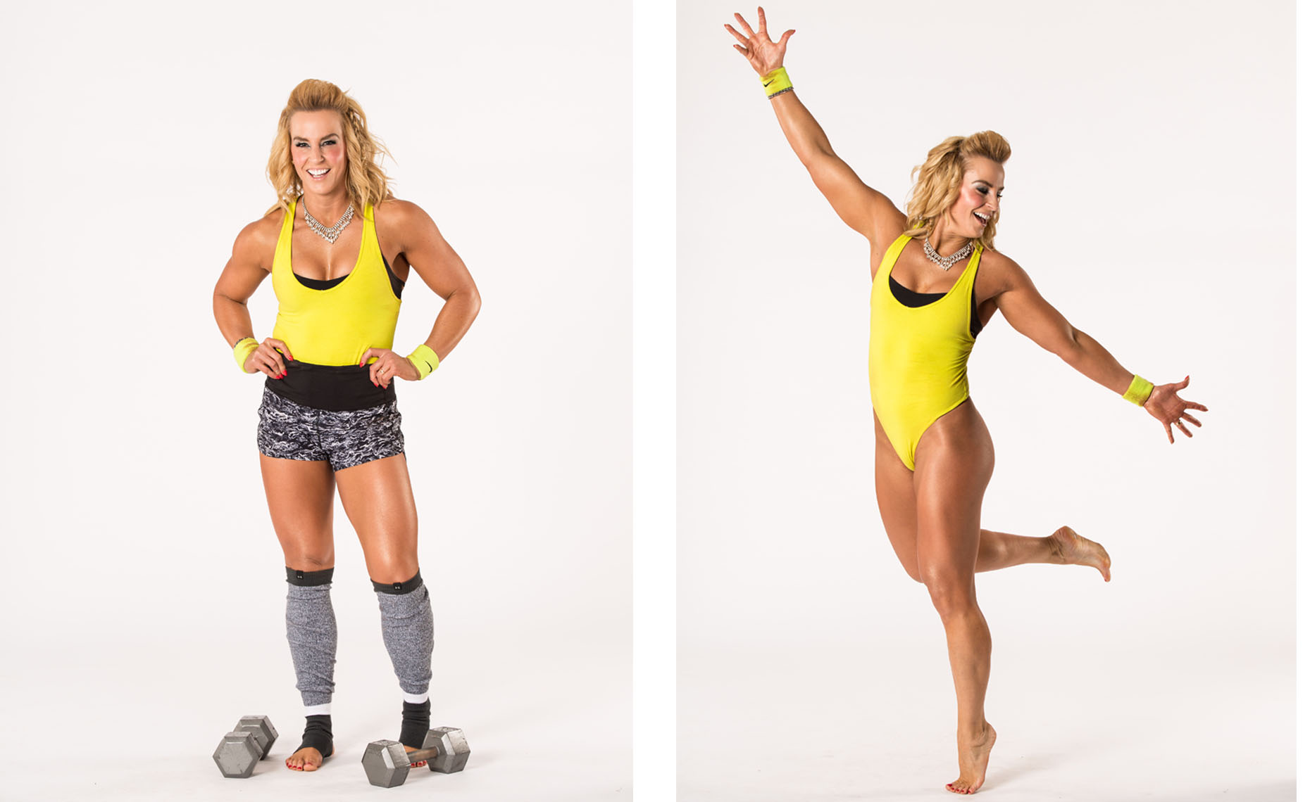 Philadelphia Photographer Fitness Model Portrait Jen Sinkler