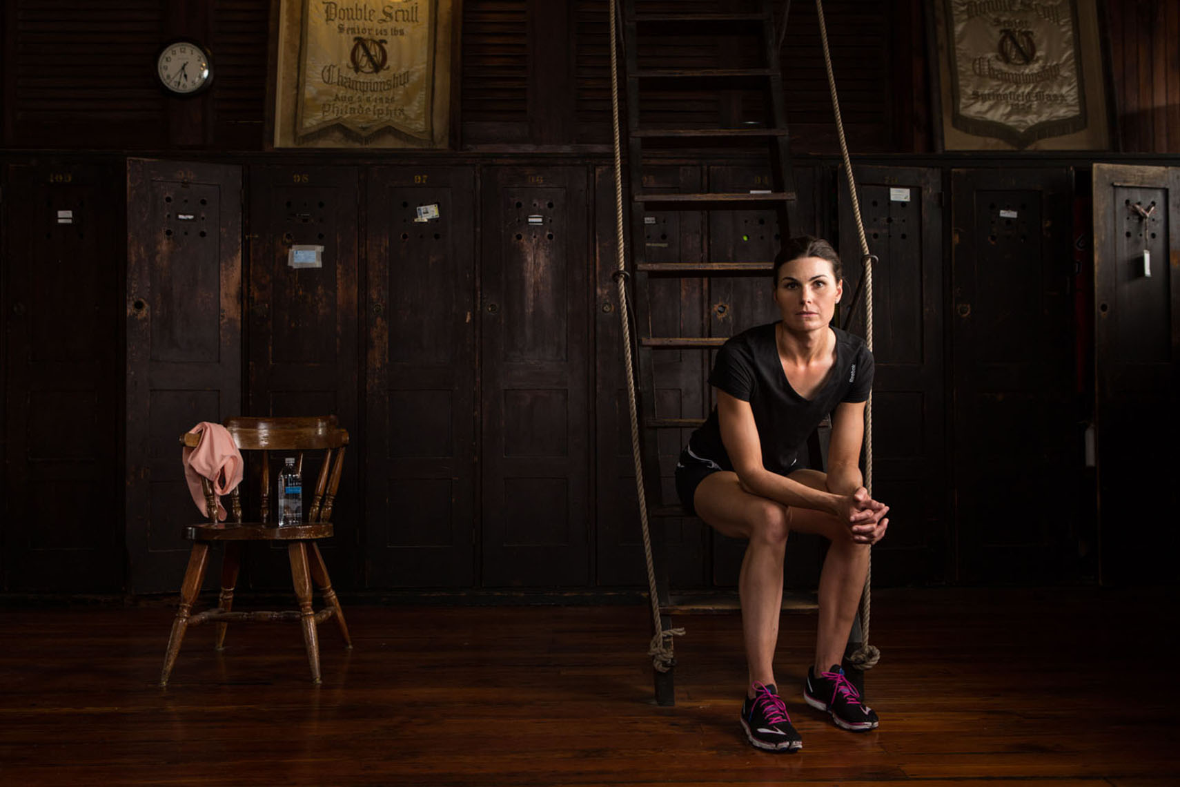 Philadelphia Photographer Rower Portrait Boathouse